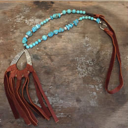 【MOON DANCER LEATHER For LILY】 Fringe Necklace フリンジ ネックレス