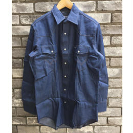 【Wrangler】 Cowboy Cut Work Weatern ラングラー ウエスタンシャツ