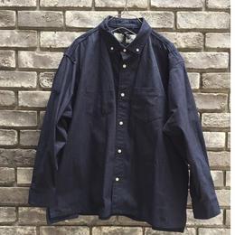 【Breechez】ダンガリー ボタンダウン オーバーシャツ