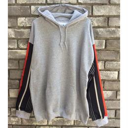 【NOMA t.d.】 Stripe Sleeve Hoody
