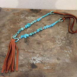 【MOON DANCER LEATHER For LILY】  Tassel Necklace タッセル ネックレス