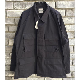 【Dead Stock】 N.O.S. BLACK357 US BDU SHIRTS medium-short