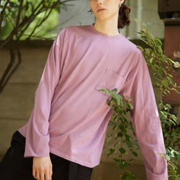 Over pocket long tee