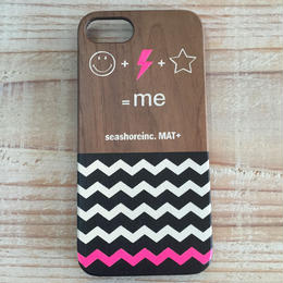 iphone case ラバー【Me】pink