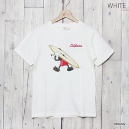 MICKEY サーフプリントTシャツ(WHITE)