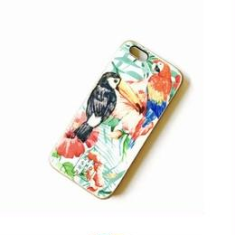 iphone case ラバー【BRID white】