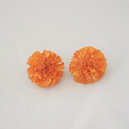 マリーゴールドイヤリング(orange10)