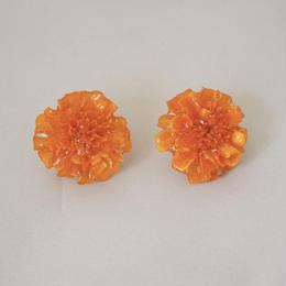 マリーゴールドイヤリング(orange09)