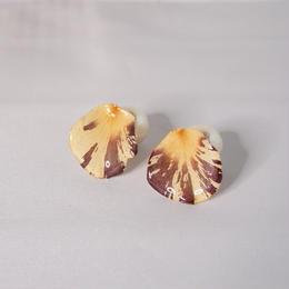 花びら2wayピアス(marble01)