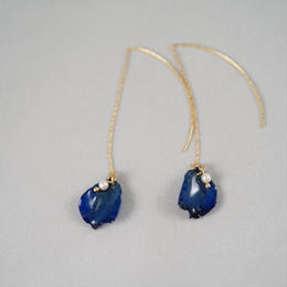花びらアメリカンピアス(blue01)