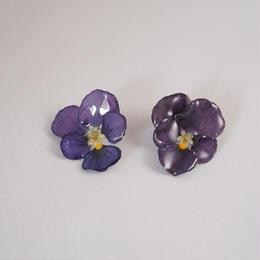 ビオラピアス(purple05)
