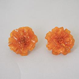 マリーゴールドイヤリング(orange07)