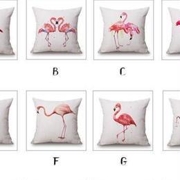 flamingoクッションカバー
