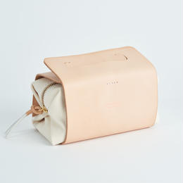 "Handle pouch ""natural"""