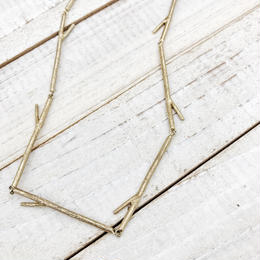 Branch Necklace gold