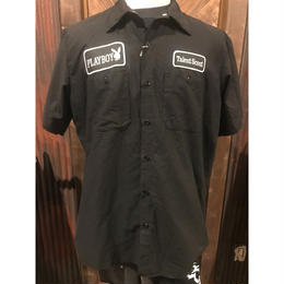 OLD PLAYBOY work shirt(used)