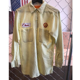 80s~SELL work shirt USA製 (used)
