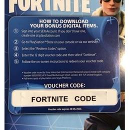 PS4 フォートナイト FORTNITE ロイヤルボンバーコスチューム プロダクトコード