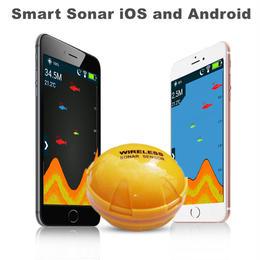 iPhone、android対応 ワイヤレス魚群探知機ソナー 高性能