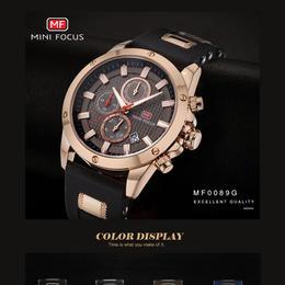 MINI FOCUS ミニフォーカス腕時計 タグホイヤーが好きな方へ