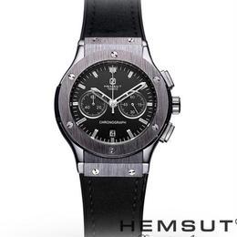 hemsut ビックバンを彷彿とさせるウブロライクなメタル腕時計