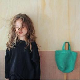 pullover knit*black