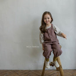 girls salopette pants*dusty pink