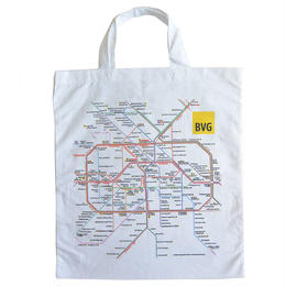 """""""BVG"""" s-bann・u-bann map tote bag (gbk013)"""