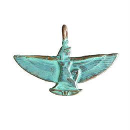 bronze isis pendant top (gbn033)
