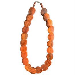"germany handmade wood necklace ""oval m"" (gan010)"