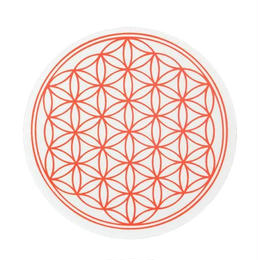 flower of life sticker red (sst002_1)