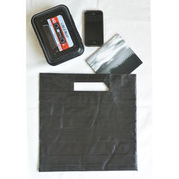 packing tape clutch bag (lpboo1blk)