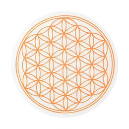 flower of life sticker orange (sst002_2)