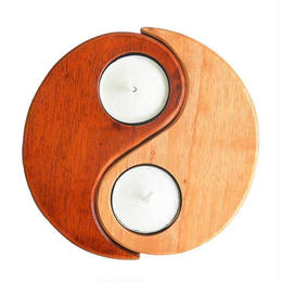"""yin yang"" teecandle holder (sc006)"