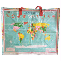world map big bag (gbk008)