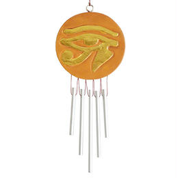 """eye of horus"" windchime ornament (so005)"