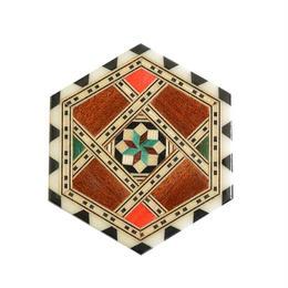 """antique """"morillo el artesano"""" mosaic coaster S (gs001)"""