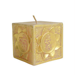 mantra cube candle (sc004)