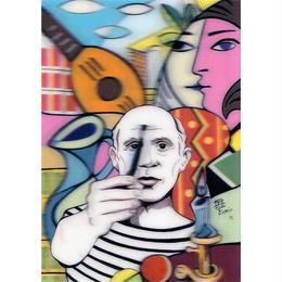 """L.M.kartenvertrieb""picaso 3D postcard (glm3011)"