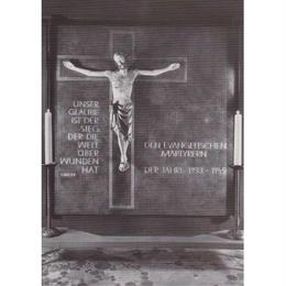 "kaiser wilhelm church ""jesus christ"" postcard (gpc001c)"