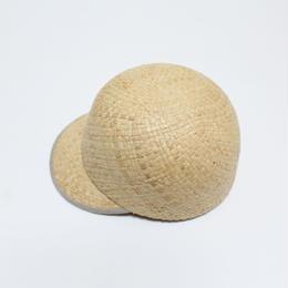 raffia cap (man&woman) natural&natural