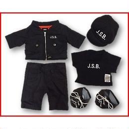 ダッフィー衣装 J.S.B. OFFICIAL デザイン MA-1 セット 43cm Sサイズ EXILE 三代目JSB