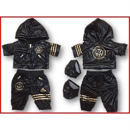 ダッフィー衣装 24karats×ADIDAS 24/7 Warm up Suit 43cm Sサイズ EXILE 三代目JSB
