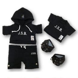 ダッフィー衣装 三代目J.S.B Hoodie パーカー 2016年最新作 43cm Sサイズ EXILE 三代目JSB