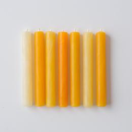 【CANDLELIGHTS】純国産/高純度 BEESWAX CANDLE (STICK)0.4oz