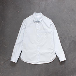 タイプライタースタンダードシャツ/SKY