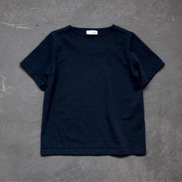 center back tshirt / indigo blue