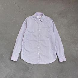 ストライプシャツ/blue×white