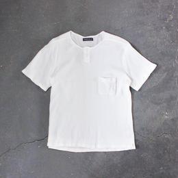 ワッフルヘンリーTシャツ/OFF/MAN
