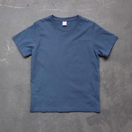 """comfortable clothes""printTshirt/indigo blue"
